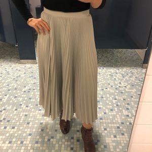 Liz Claiborne Vintage Pleated Maxi Skirt